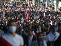 Noi proteste împotriva preşedintelui Lukaşenko, la Minsk