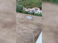 Inundațiile au făcut ravagii în sudul Franței. Cel puțin două persoane sunt dispărute