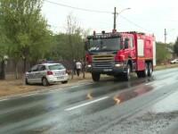 O dubă s-a răsturnat pe ploaie, în Dâmbovița. Printre victime, un copil de 11 ani