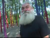 Pădurea colorată, fenomenul unic al unui artist din Gorj. Vin turiști din străinătate să o vadă