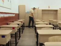 Școlile din Galați și Arad au intrat în scenariul galben. Elevii vor merge alternativ la ore