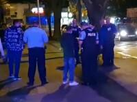 Cuțitarul din Galați a fost prins. A fost la un pas să omoare un tânăr în fața unui cazino