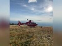 Intervenție contracronometru pentru salvarea unui alergător rănit, la 1200 de metri altitudine