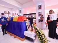 Ivan Patzaichin a fost înmormântat la Cimitirul Bellu, cu onoruri militare. Militarii au tras trei salve