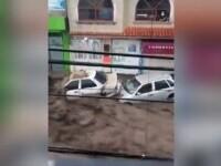 Inundații de o violență înfricoșătoare, în Mexic. Potopul s-a revărsat peste un oraș aflat la 20 de km de capitală
