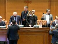 Textul moțiunii de cenzură, citit în plenul Parlamentului, însă ziua votului rămâne incertă