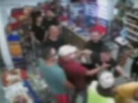 Încăierare între suporteri, într-un magazin din Dej. Autoritățile au intervenit după apelul unei vânzătoare