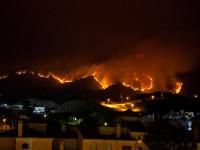 MAE a emis o atenționare de călătorie pentru turiștii care merg în Spania. Incendiu de vegetaţie uriaș în Malaga