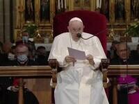 Papa Francisc, nemulțumit de cuvântările Bisericii catolice din Slovacia. Sunt primele sale vizite după operația de colon