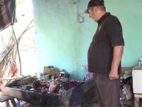Un bărbat imobilizat la pat a murit după ce a luat foc de la o ţigară