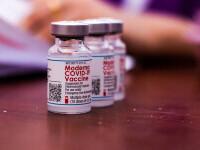 Studiu: Protecţia vaccinurilor Moderna scade în timp. Sunt necesare doze de rapel
