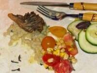 FOTO. Cum a arătat mâncarea la Gala Met, unde biletele au costat 35.000 de dolari