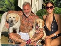Gianluca Vacchi, apariție excentrică în vacanță. A purtat o fustă, iar toate privirile au fost îndreptate spre el FOTO