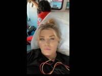 Loredana Groza a ajuns în atenția medicilor, într-o ambulanță. Mesajul artistei