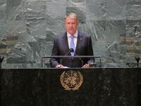 """Klaus Iohannis, la Adunarea Generală a ONU: """"Trebuie să ne asigurăm că restricţiile nu amplifică încălcările drepturilor"""""""