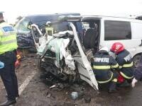 Accident îngrozitor pe DN2. Patru persoane au murit