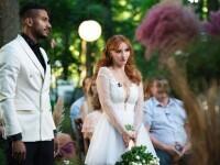 """""""Căsătoriți pe nevăzute"""". George și Cristina s-au căsătorit, în ciuda criticilor părinților ei"""