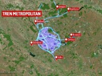 Trenul metropolitan București-Ilfov va costa 600.000 de milioane de euro
