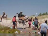 Anchetă în SUA cu privire la comportamentul violent al grănicerilor călare față de migranții haitieni
