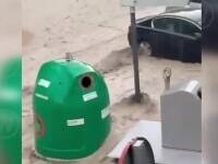 Precipitații record în sudul Spaniei. Mai multe persoane au rămas blocate în mașini, în toiul inundațiilor