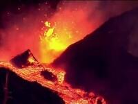 Dezastru în La Palma, după erupția vulcanului Cumbre Vieja. Aeroportul a fost închis, iar mii de oameni și-au părăsit casele