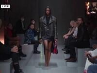 Noua colecție vestimentară de la Prada a fost prezentată simultan în două orașe din țări diferite