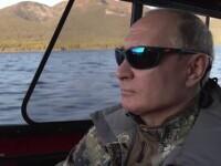 """Putin s-a relaxat în taigaua siberiană. Președintele rus a stat 4 zile în cort cu șemineu: """"Râzi degeaba, chiar dă căldură"""""""