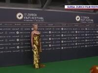 Cum a apărut actrița Sharon Stone, în vârstă de 63 de ani, la Festivalul de Film din Zurich. FOTO