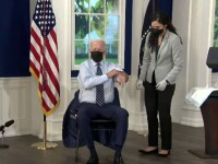 """Joe Biden a primit a treia doză. Nevaccinații """"provoacă groaznic de mult rău pentru restul ţării\"""