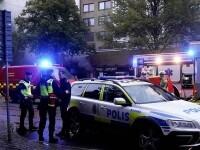 FOTO. Explozie într-o clădire din Gothenburg. 25 de persoane au ajuns la spital