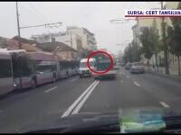 Șofer din Cluj oprit de alți șoferi în trafic, după o cursă nebună prin oraș