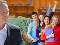 Veste bună pentru elevi! Bursele cresc din semestrul II. Câţi bani vor primi