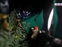 Accident cumplit în Călimănești. Un bărbat a murit strivit de cabina camionului pe care îl conducea