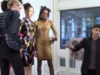 Asher Levine și-a prezentat noua colecție futuristică. Fabrică haine cu imprimanta 3D