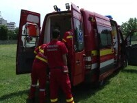 O femeie din Cluj s-ar fi aruncat de la etaj în timp ce în locuinţa ei se afla şi un echipaj SMURD