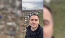 Doi tineri care aruncau gunoi pe jos, amendați după ce au fost prinși de Rareș Năstase
