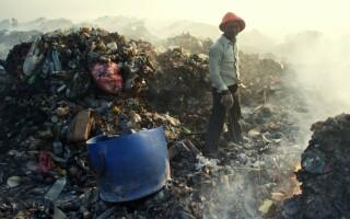 groapa de gunoi, Maldive