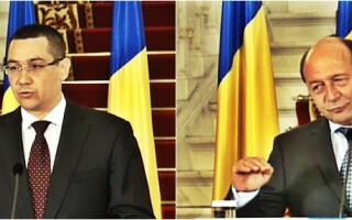 Victor Ponta si Traian Basescu