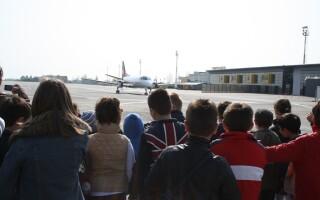 Scoala altfel, Aeroport Timisoara