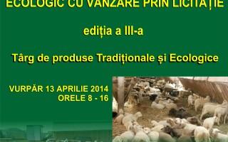 Animale vandute prin licitatie la expozitia de ovine crescute ecologic in judetul Sibiu