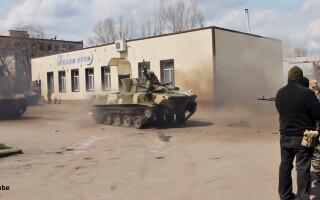 drifturi cu tancheta in Ucraina