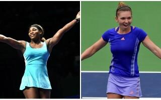 Simona Halep, Serena Williams - 1