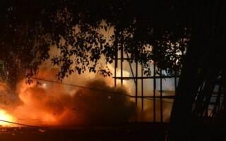 incendiu in India