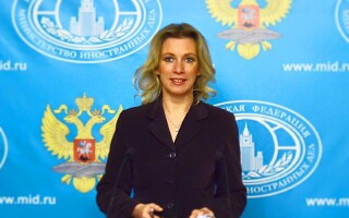 Maria Zaharova, purtator de cuvant al MAE rus