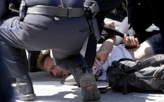 Violente in SUA - Donald Trump