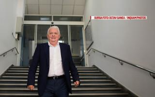Viorel Hrebenciuc pleaca de la sediul Directiei Nationale Anticoruptie