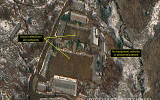 PUNGGYE-RI sit teste nucleare