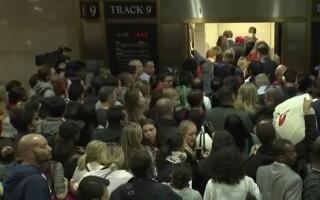 panica la metroul din NY