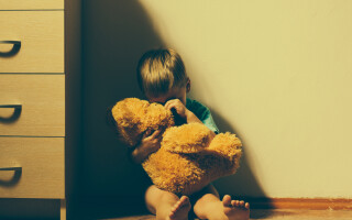 Copil cu depresie