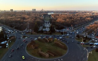 Piata Charles de Gaulle si Parcul Herastrau din Bucuresti